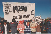 Pagad members protest, Cape Town