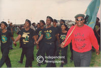 Pan African Congress (PAC)  supporters, Cape Town