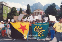 PAC demonstration at UCT, Cape Town