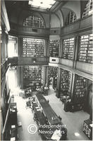 The library of Parliament, Cape Town