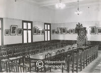 Interior of the Government Caucus room, Cape Town