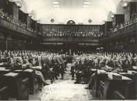 Members of Parliament sit for a photograph, Cape Town