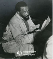 Adult night school student, Cape Town, 1950s