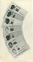 Examples of identity cards for South Africa's 'independent states'