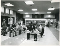 Arrivals lounge at D.Fa. Malan Airport, Cape Town