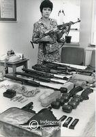 Arms cache, Cape Town