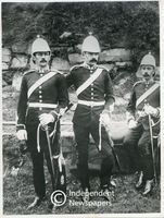 Officers of Prince Alfred's Own Cape Volunteer Artillery, Cape Town