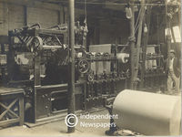 Lancashire flatbed printing press , Cape Town