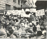 Women protest for the release of political prisoners, Cape Town
