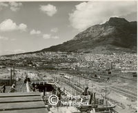 Train station being built, Cape Town