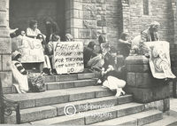 Protest, St. George's Cathedral, Cape Town