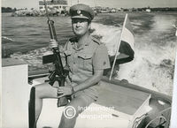 Armed warder, Robben Island, Cape Town
