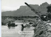 Dredging, Black River, Cape Town