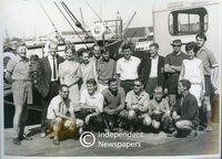 Members of South Africa's 8th Antarctic expedition , Cape Town