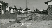 War-time housing development in Kew Town, Athlone, Cape Town