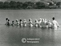 Baptisms at Princess Vlei, Grassy Park, Cape Town