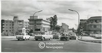 Voortrekker Road traffice, early 1960s, Bellville, Cape Town