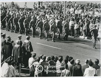 Military parade, Bellville, Cape Town