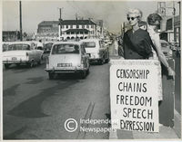 Black Sash protest, 1960s, Cape Town
