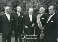 Members of Vorster's Cabinet, Cape Town, 1976