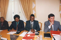 South African Cabinet members, 1994, Cape Town