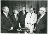 Cabinet members, Cape Town, 1983