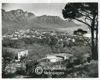 Camps Bay and the Twelve Apostles, Cape Town, 1957