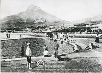 Swimming pool, Camps Bay, Cape Town