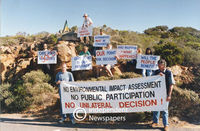 Enviromentalists protest building of restaurant at Cape Point, Cape Town