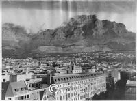 Table Mountain, Cape Town, from the City Bowl