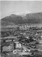 General view of the City Bowl, Cape Town