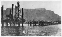 Extension of the pier, Cape Town Harbour