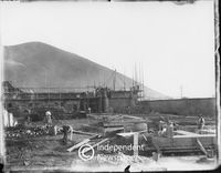 Construction work at Cape Town Harbour