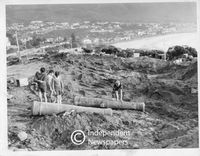 Discovery of old cannons in Camps Bay, Cape Town