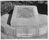 Armistice Stone, Cape Town