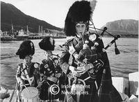 Cape Town Highlanders Pipe Band, Cape Town, 1981