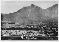 View over the City Bowl from Signal Hill, Cape Town, 1888