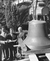 Bell for St. Martin's Lutheran Church, Cape Town, circa 1961