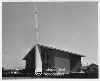 Parow East Dutch Reformed Church, Cape Town, 1962