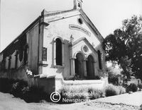 Moravian Chapel in District Six, Cape Town, 1987