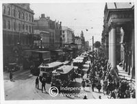 Adderley Street, Cape Town, 1920s
