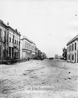 Adderley Street, Cape Town, 1876