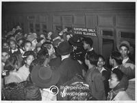 Racial segregation on Cape Town trains, Cape Town, 1948