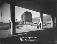 The S A Railways building on the Foreshore, Cape Town, 1959