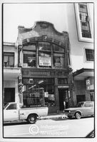 Art Nouveau architecture on Long Street, Cape Town, 1982