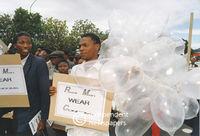 AIDS march, Cape Town
