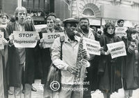 Academic protesters, Cape Town