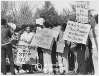Political protests, Cape Town