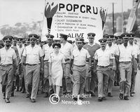 POPCRU members march, Cape Town
