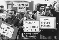 Political protests, 1991, Cape Town